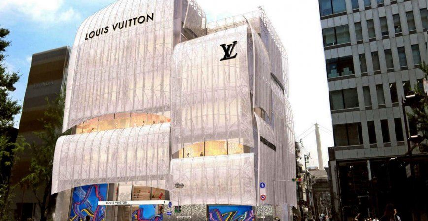 Первый ресторан и кафе Louis Vuitton в Осаке